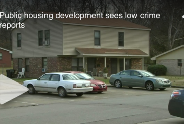 Public housing development sees low crime rate