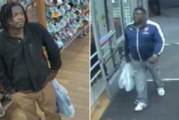 2 men try to return stolen merchandise at TJ Maxx
