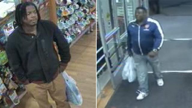 2 men try to return stolen merchandise at TJ Maxx