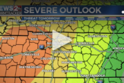 Thursday's severe storm threat is worst of the season