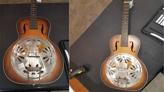 Brentwood police working to reunite stolen Dobro with owner