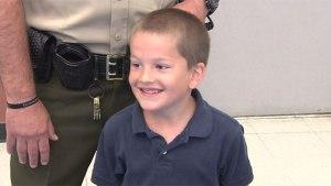 Williamson County SRO credited for saving choking 1st grader's life