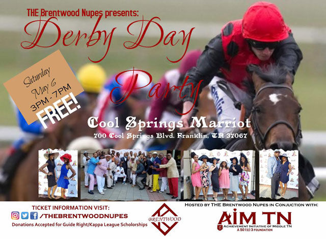 Derby Day Party to be held in Franklin Saturday