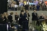 High school student received standing ovation along with degree at graduation