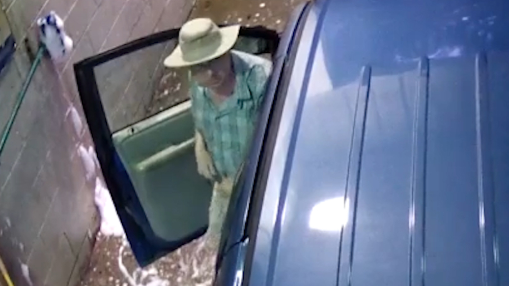 Carwash Coin Crook Wanted in Franklin