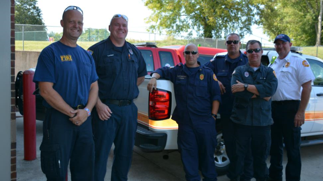 Franklin Fire Crews Moves to Jacksonville, Ready for Urban Search and Rescue