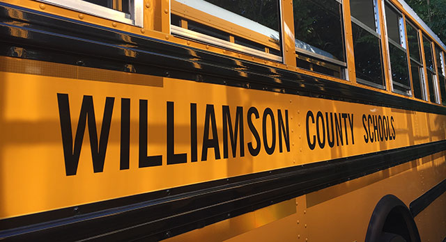 Homeland Security Teams with Williamson County Schools