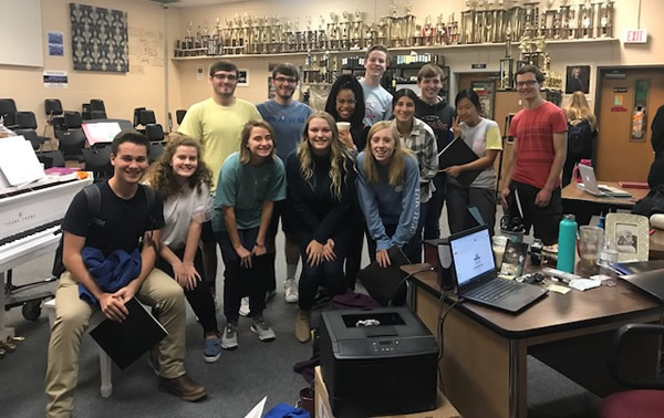 WCS Students Make Mid-State, All-State Choirs