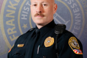 Franklin Police Detective Celebrated for 25 years of Service; Detective Andy Green to Retire, Friday
