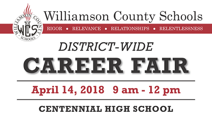 Williamson County Schools Career Fair