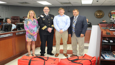 Page High Receives Hands-Only CPR Kits
