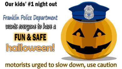 Franklin Police Halloween